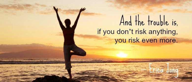 Quote about Risk by Erica Jong